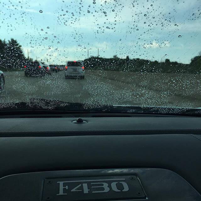 Rainy Day #riffsgarage #ferrari